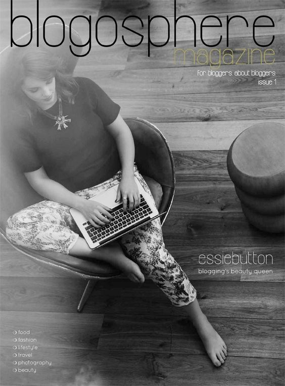issue 1 blogosphere front cover