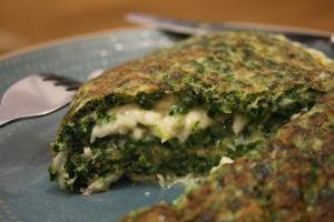 Spinach And Halloumi Omelette 171 The Food I Eat