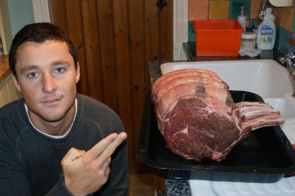 christmas day beef