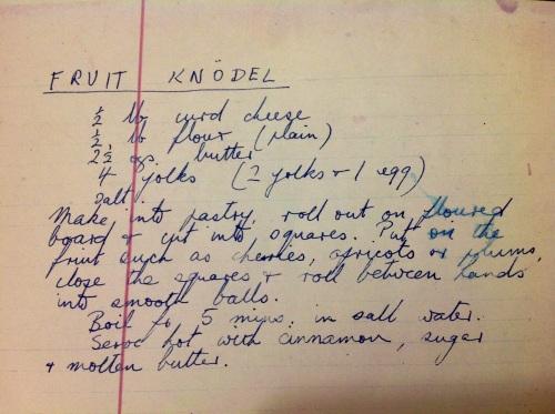 granny knodel recipe