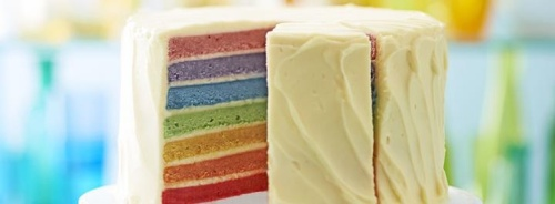 BBC Good Food A1 Rainbow Sponge Cake