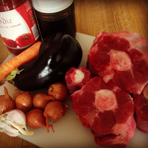 ox tail ingredients