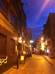 Jubo on Rivington Street - flanking The City and Old Street