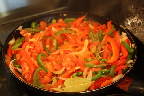 peppers for piperade sauce
