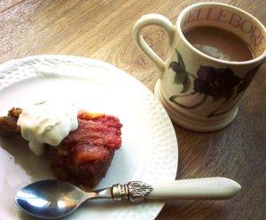 Breakfast cake...