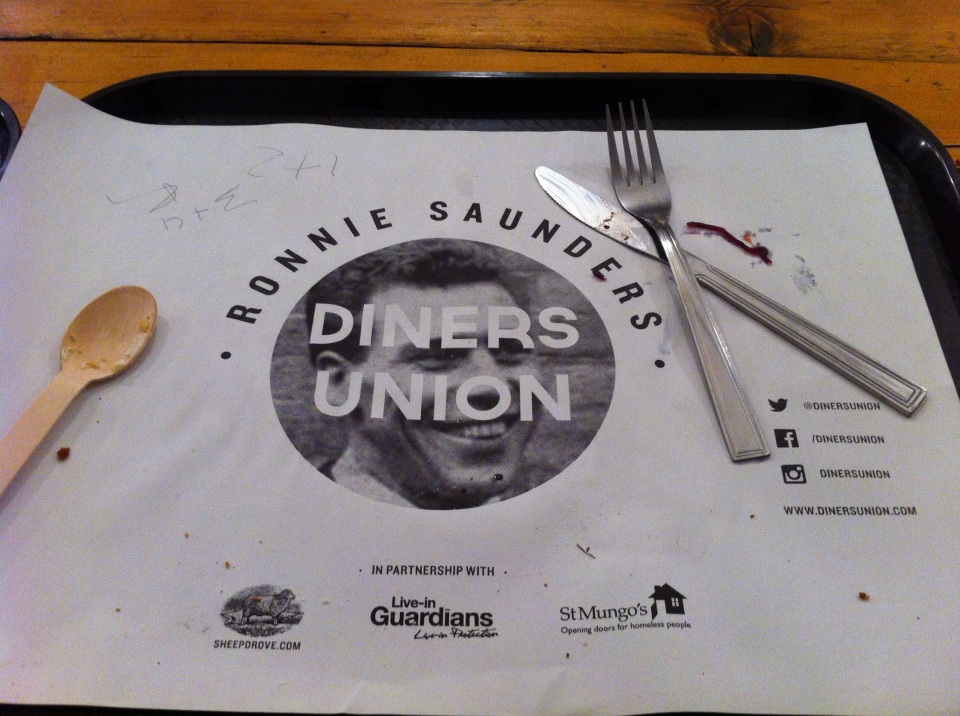ronnie saunders diners union